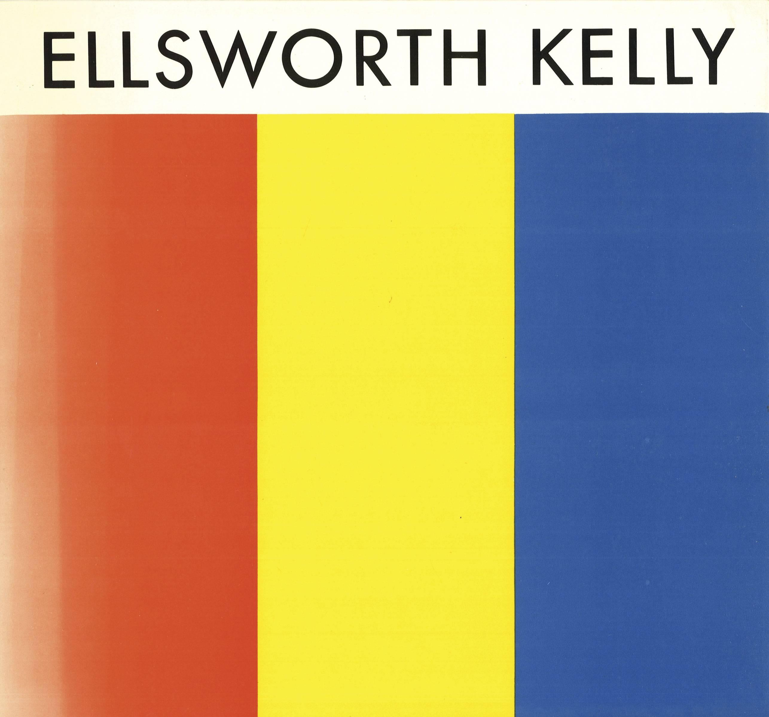 Ellsworth Kelly - ELLSWORTH KELLY [SIGNED], Painting For Sale at 1stdibs