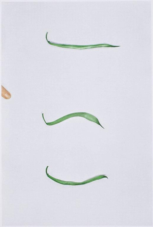 BALDESSARI. Choosing: Green Beans - Art by John Baldessari