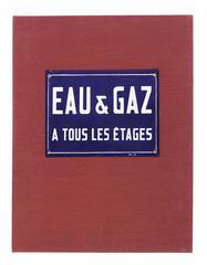 DUCHAMP, Marcel.  Eau et Gaz à Tous les Étages.