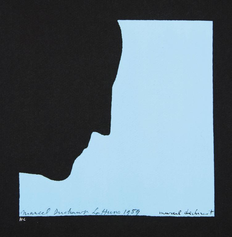 DUCHAMP. Five Original Duchamp Screen-Print Posters: Self Portrait in Profile For Sale 2