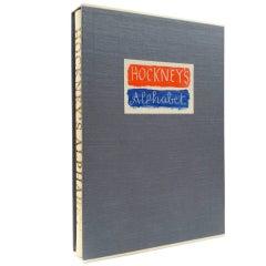 Hockney's Alphabet by David Hockney, Signed Limited Edition