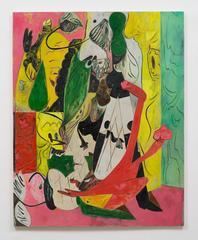 Creeper Salad-Bar, Scott Anderson, Figurative Abstraction, Oil, Charcoal