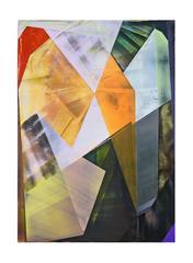 Fila, Ian Hagarty, 2016, Acrylic Paint, Abstract, Geometric