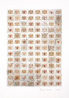Veni Vidi Vici, Robert Larson, Geometric, Pattern, Found Objects, Mixed Media