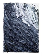 Falling Water, Kenton Parker, Acrylic Paint, Oil Paint, Abstract Expressionism
