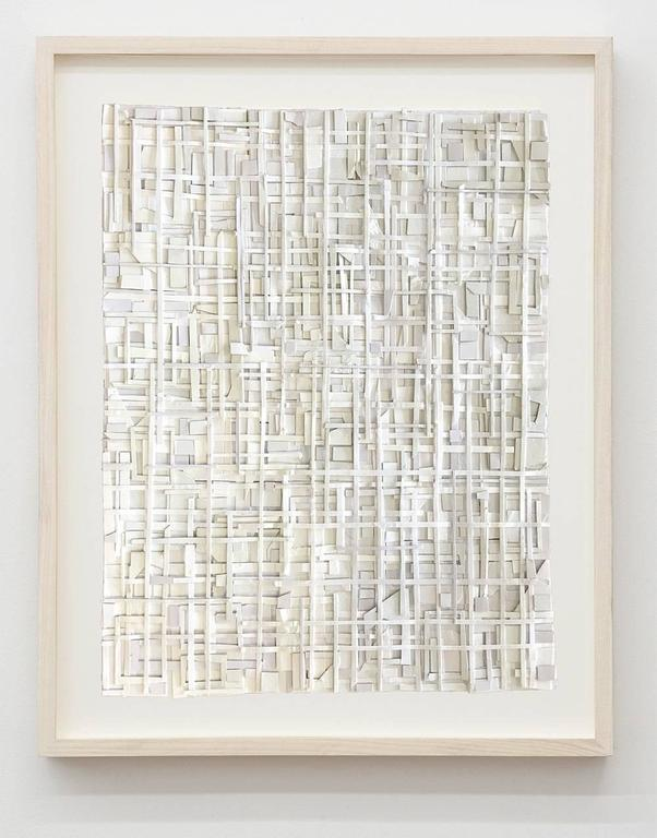The Echo & its Filament, Matt Gonzales, Mixed Media, Paper, Geometric, Abstract