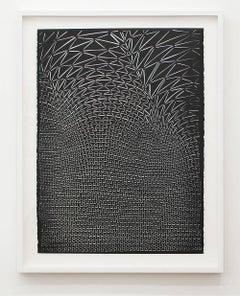 Thunderhead (Updraft), Adam Feibelman, Acrylic, Mixed Media, Paper