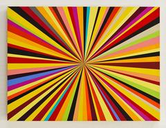 Anouk, Kenton Parker, Geometric Abstraction, Acrylic Paint, Wood Panel