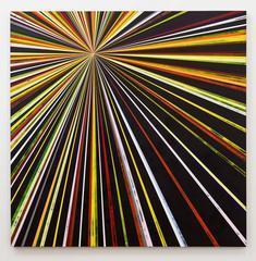 Sarah, Sara, Kenton Parker, Geometric, Abstract, Acrylic Paint, Wood Panel