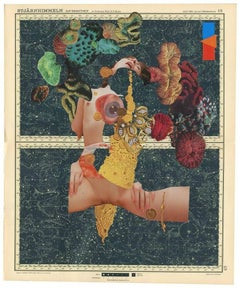 King of Works -The Divine Two, Ashkan Honarvar, 2015, Collage, Contemporary