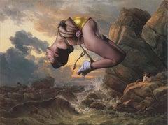 King of Worms - Golden Lullaby 1,  Ashkan Honarvar, 2015, Collage, Contemporary