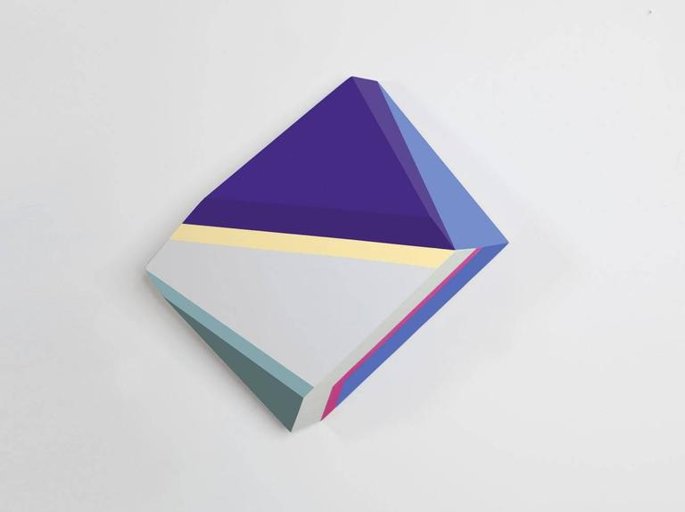 Origami 1, #29, Zin Helena Song, Geometric Abstraction, Minimalism, Mixed Media - Abstract Geometric Painting by Zin Helena Song