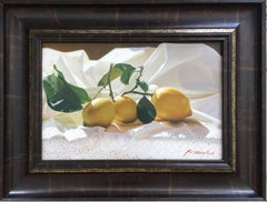 Lemons On The Cloth