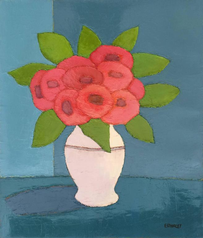 Rouge Et Vert Dans Le Vase