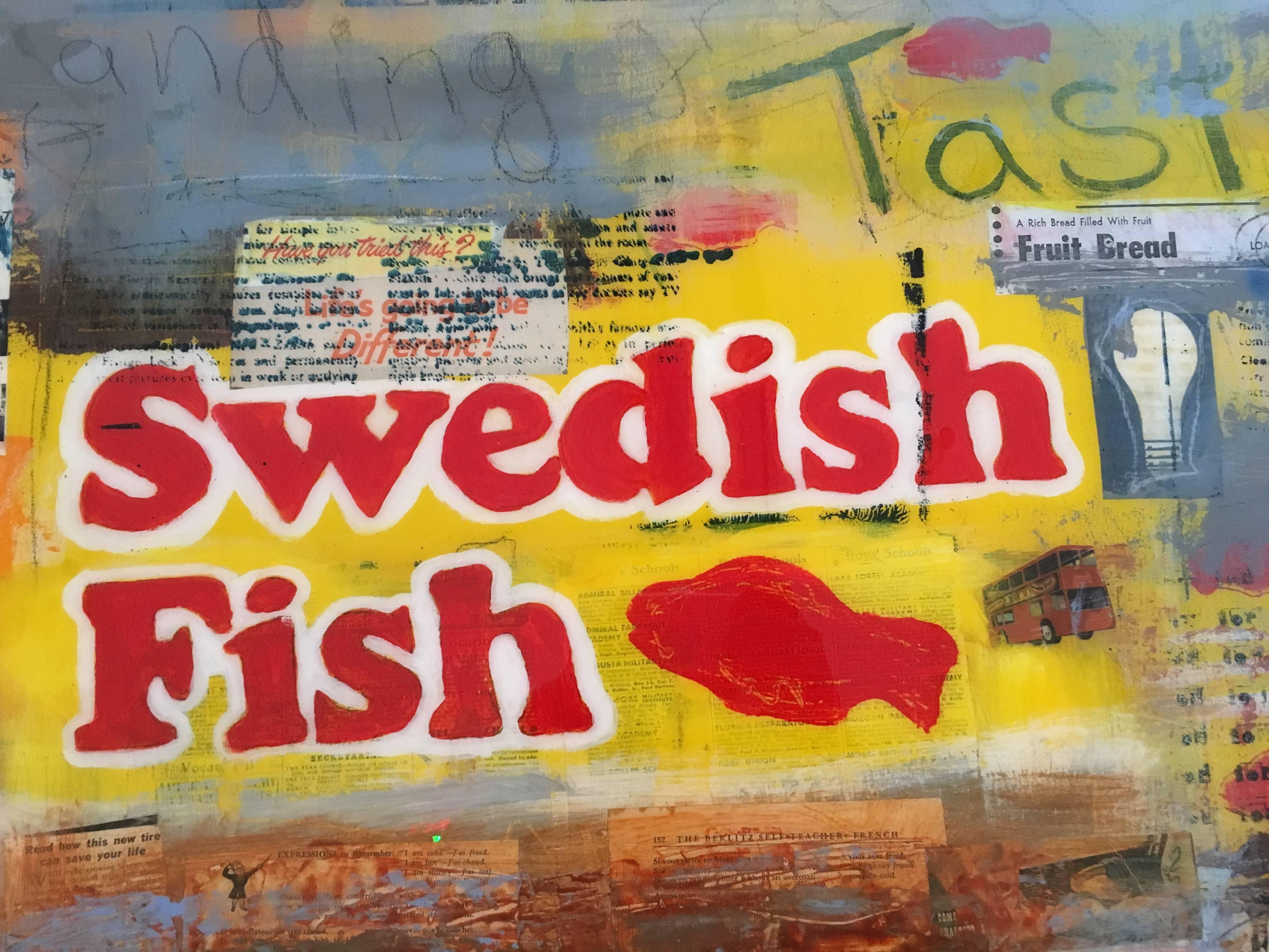 David Morico - Swedish Fish, Painting For Sale at 1stdibs