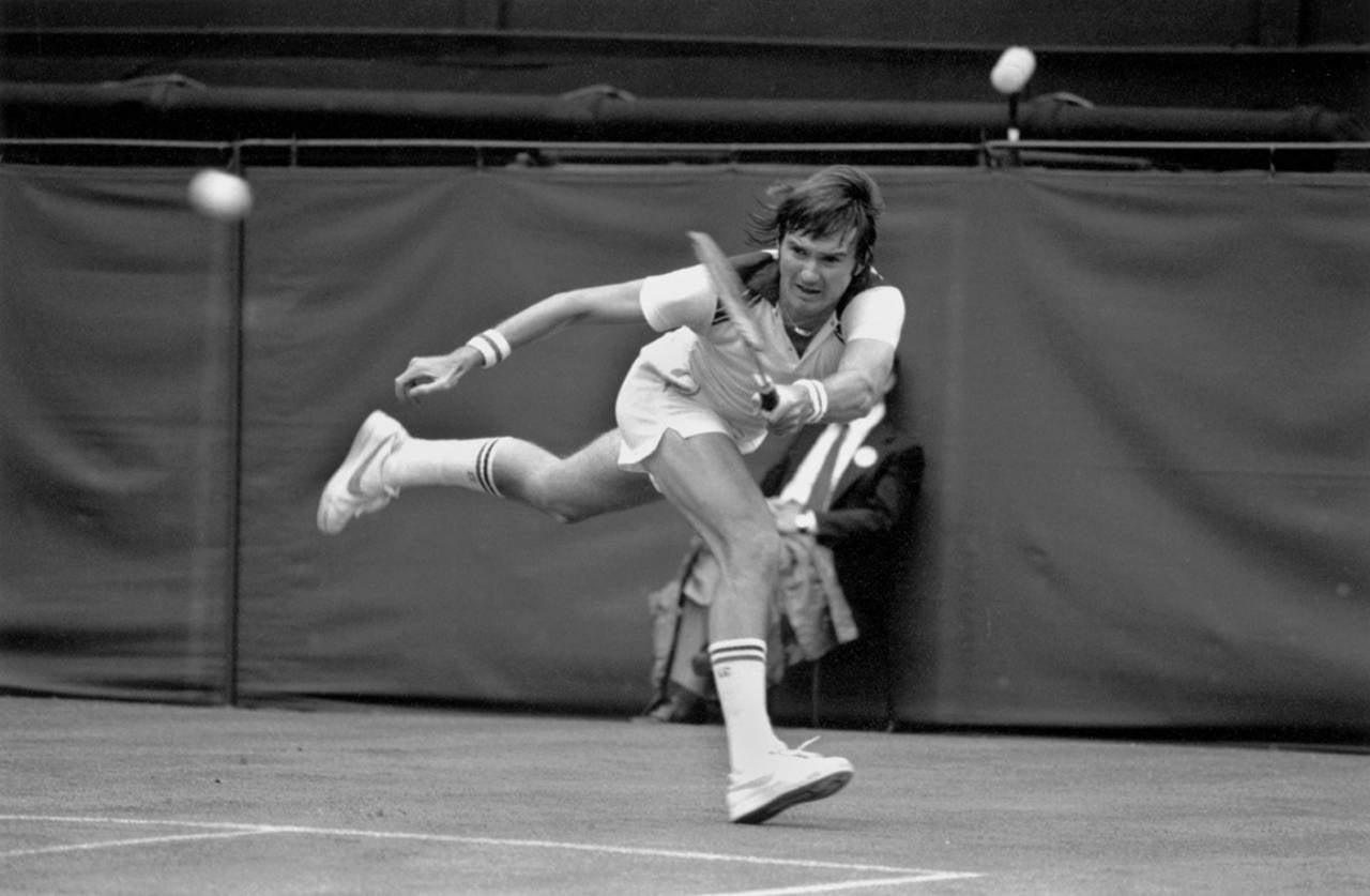 Peter Marlow Jimmy Connors at Wimbledon graph at 1stdibs