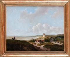 Panoramic Sea Landscape in Summer