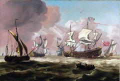 A squadron at sea