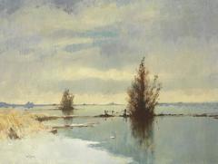 Flooded Marshlands, Winter