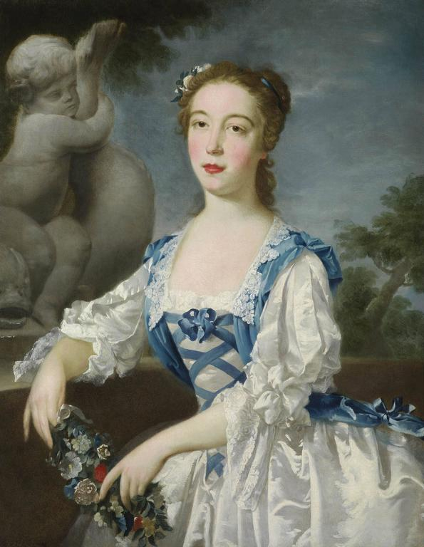 Bartholomew Dandridge - Portrait of a young girl 1