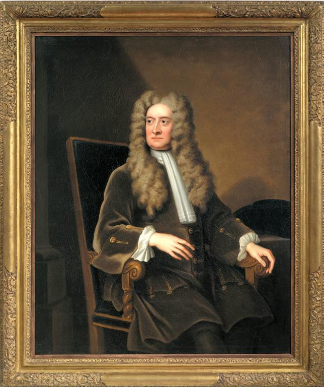 Sir Isaac Newton (1642-1727), ca. 1719, by Sir Godfrey Kneller