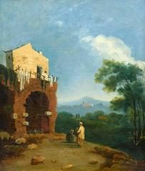 The West Belvedere at Hadrian's Villa, Tivoli (Hadrian's Villa)