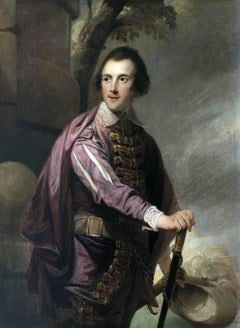 A portrait of Sir John Taylor Bart