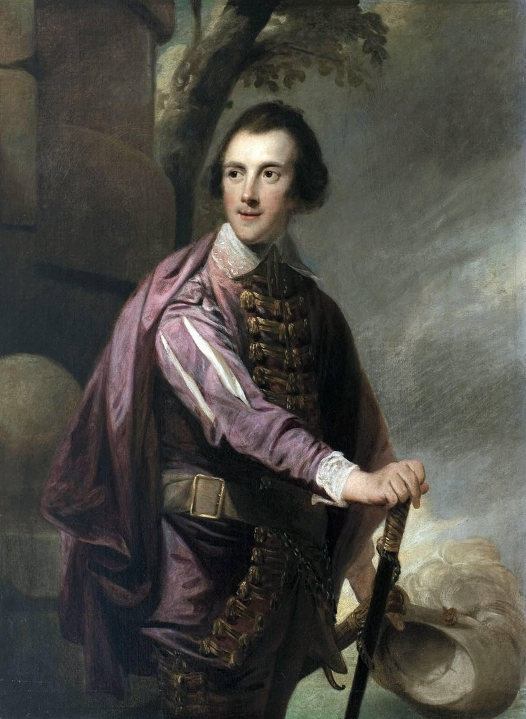 Robert Edge Pine - A portrait of Sir John Taylor Bart 1