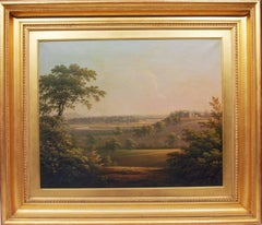 A view of Langton Hall, Yorkshire