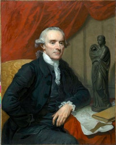 Mather Brown 1761-1831 - 18th century portrait of Nathaniel Chauncey