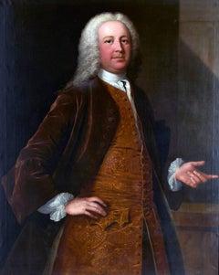 A portrait of a gentleman - By Thomas Frye