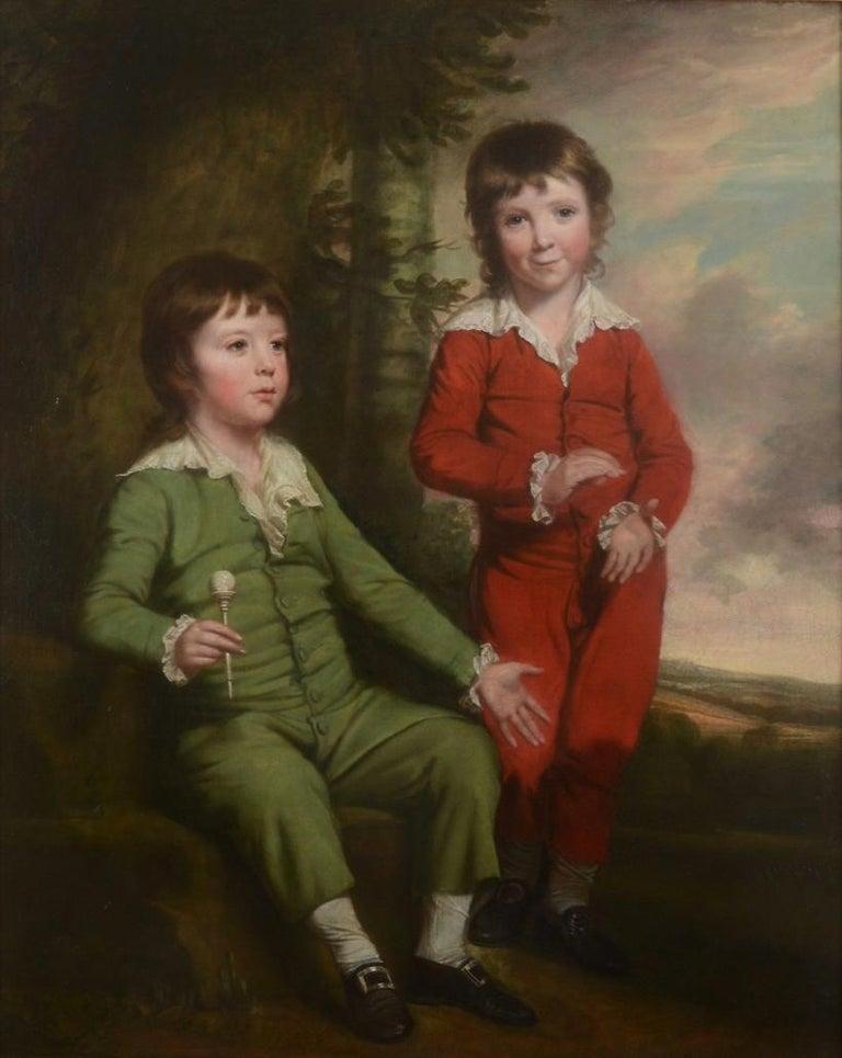 Thomas Beach portrait of the Masters Blair, Henry & Charles Blair