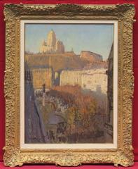 Painting Post Impressionist Paris Montmartre