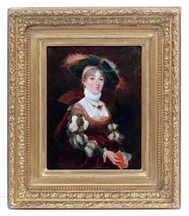 Painting 19th Century Portrait Renaissance