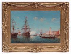 Painting 19th Century  Venice Marine