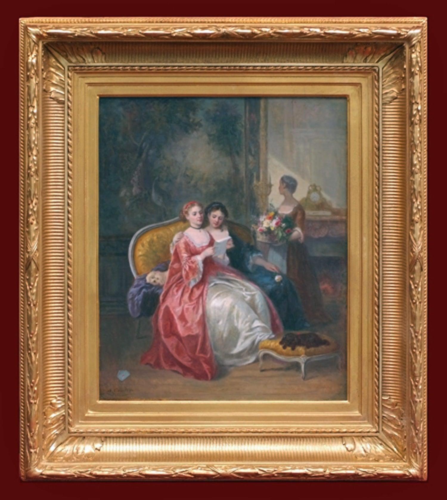 19th Century Painting  Interior and Genre Scene