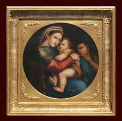 19th century painting from Old Italian Renaissance Master Raphael