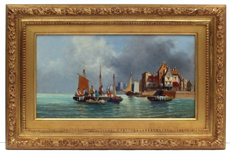 Painting 19th century - Marines in pair For Sale 3