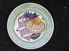 Mathurin Meheut, Plate From The Sea Dinner Set, Ceramic