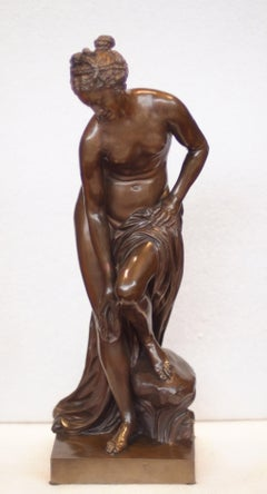 Bronze Bather (La Baigneuse), Founder Ferdinand Barbedienne, 19th Century