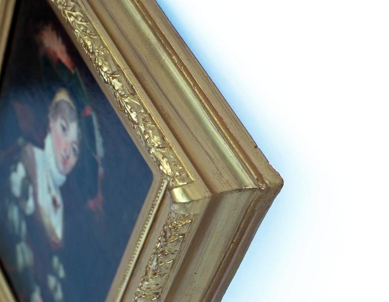 Painting 19th Century Portrait Renaissance   2