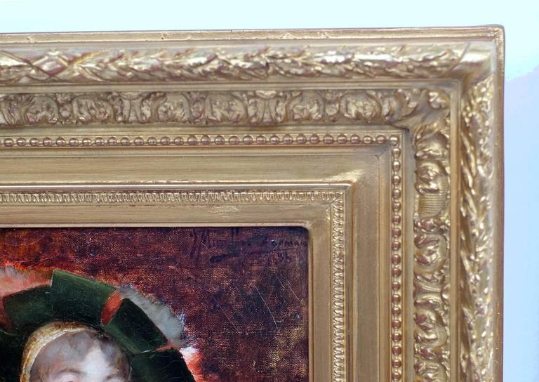 Painting 19th Century Portrait Renaissance   4