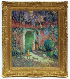 Painting post French Impressionist Pointillism