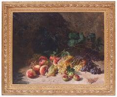 Postimpressionist still life of Fruits