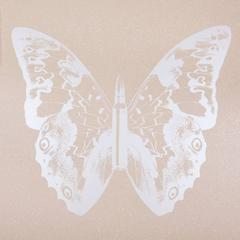Pearl Butterfly on Pink Sand II
