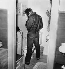 'James Dean Multi-tasking' (Silver Gelatin Print) LIMITED EDITION