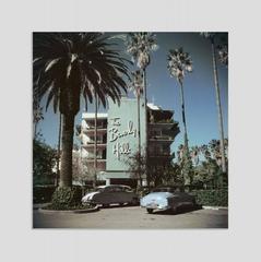 Slim Aarons - 'Beverly Hills Hotel' (Chomaluxe Aluminium Print)