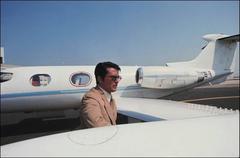 'Alain Delon Private Jet'