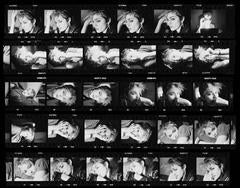 'Madonna Contact Sheet' New York (Silver Gelatin Print)