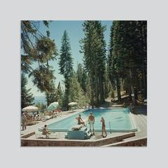 'Pool At Lake Tahoe' (Chromaluxe Aluminium Print)